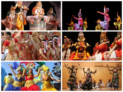 dance forms, culture, India, diversity